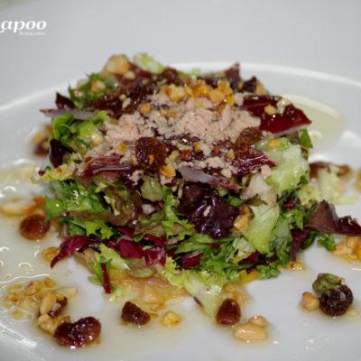 Restaurante Chapoo. Ensalada Chapoo