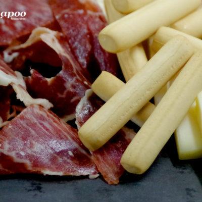 Restaurante Chapoo. Tabla de jamón ibérico