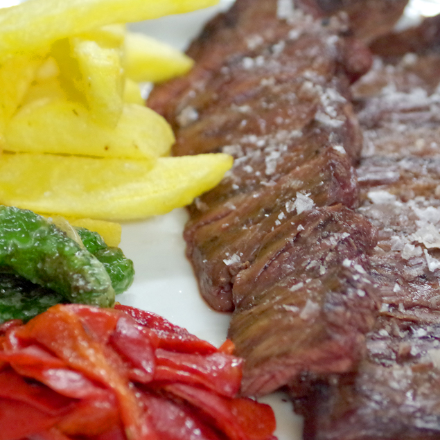 comer carnes a la brasa Majadahonda