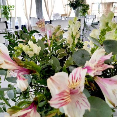 Evento Chapoo. Detalle Floral