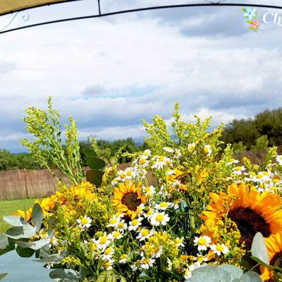 Evento Chapoo. Detalle Floral exterior
