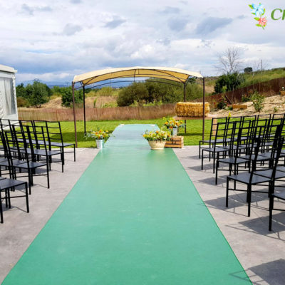 Evento Chapoo. Zona de ceremonia