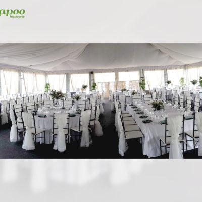 Evento Chapoo. Distribución de las mesas