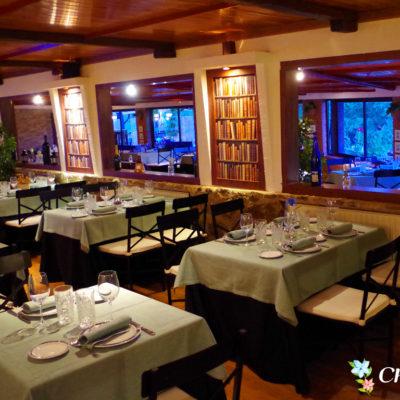 Salón interior para comidas y cenas