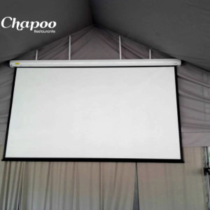 Pantalla proyector gigante para eventos Chapoo