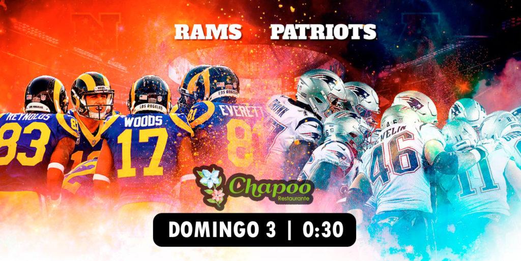 Restaurante Las Rozas, Majadahonda para ver Super Bowl 2019