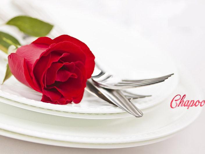 San Valentin menu degustacion especial