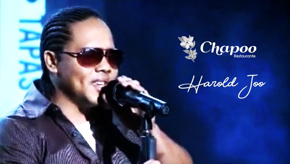 musica en vivo cantante harold joo