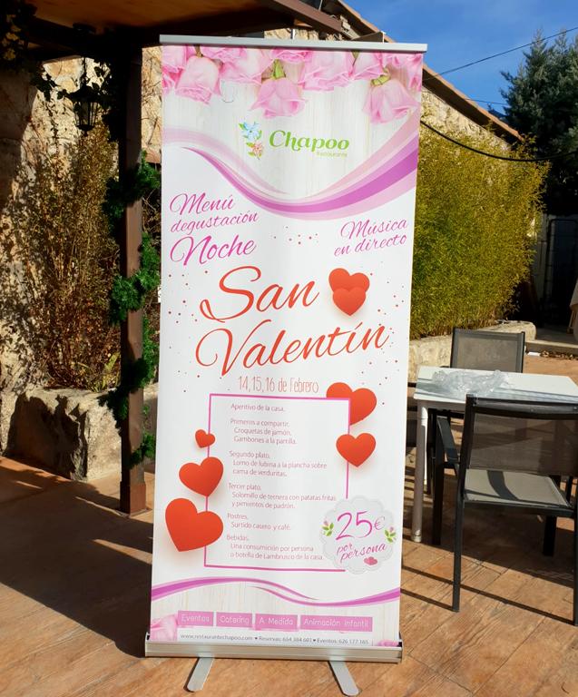rollup menu san valentin las rozas imcimpresiones