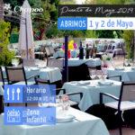 Restaurante abierto este Puente de Mayo para comer con niños en Las Rozas y Majadahonda
