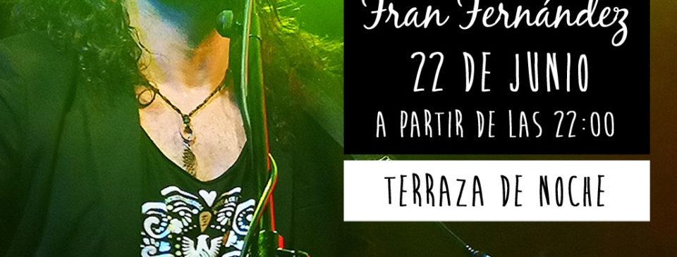 Fran Fernandez espectaculo en directo cenas