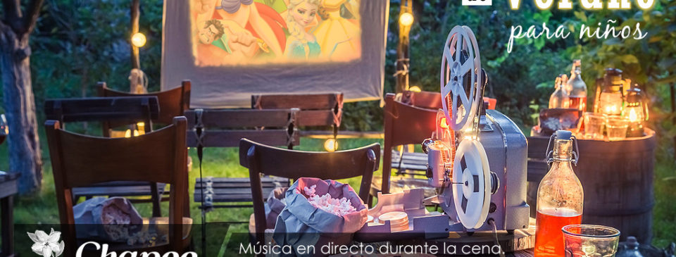 cine de verano restaurante animacion infantil