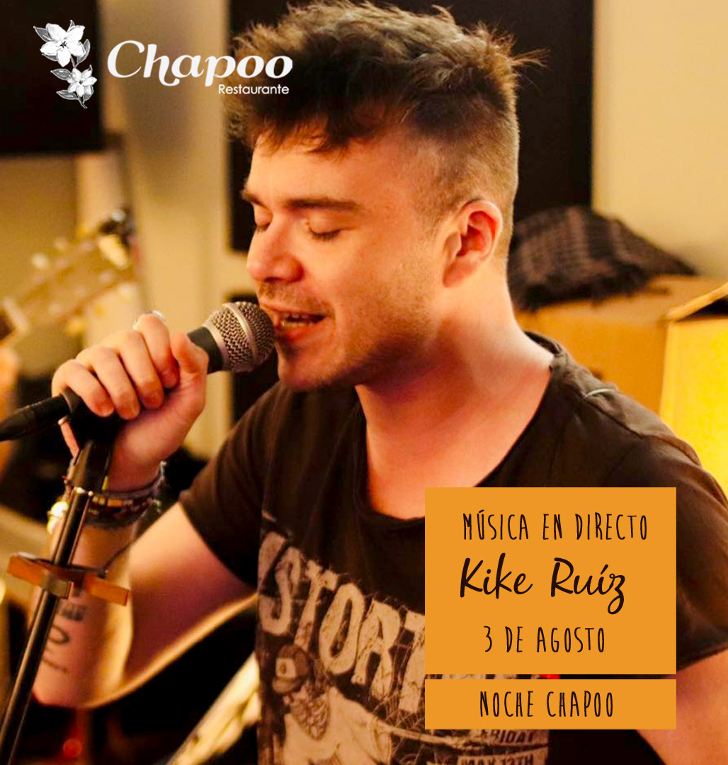 espectaculo restaurante noches Kike Ruiz agosto