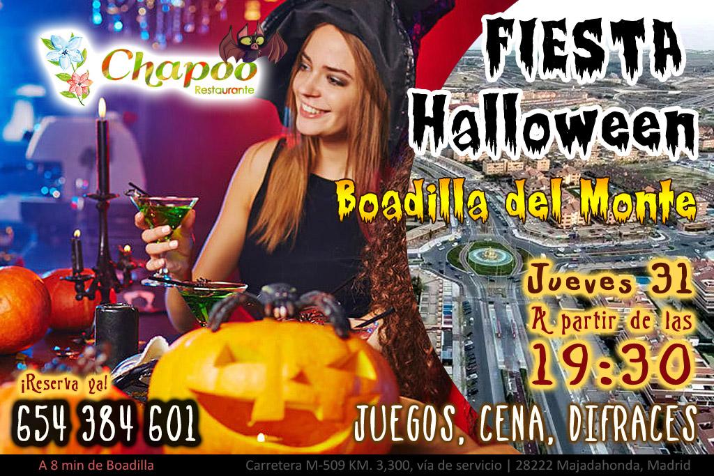 Fiesta Halloween Boadilla del Monte 2019