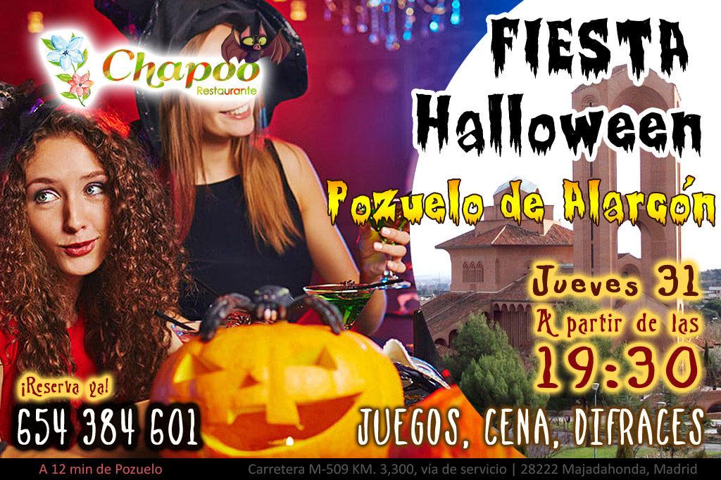 Fiesta Halloween Pozuelo de Alarcon 2019