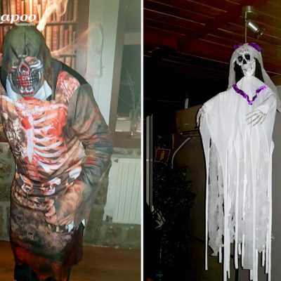 Fiesta Halloween. Bienvenidos a la fiesta tematica