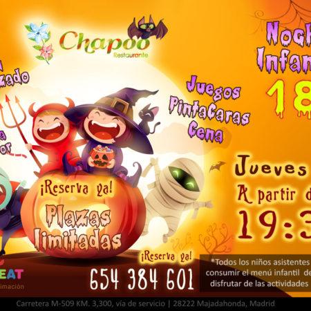 Fiesta Halloween para Niños en Majadahonda y Las Rozas