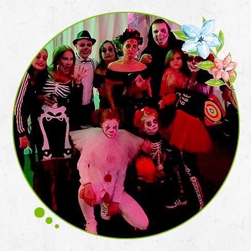 Restaurante con Fiesta Halloween