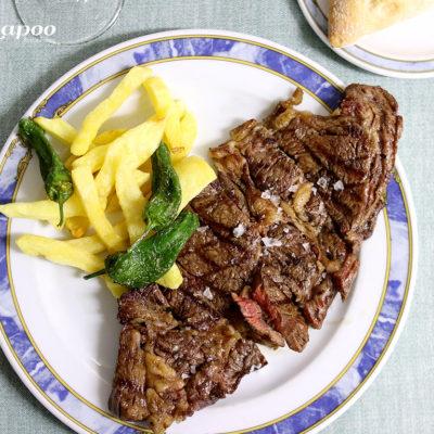 Carne a la Brasa. Comida Casera Restaurante Chapoo