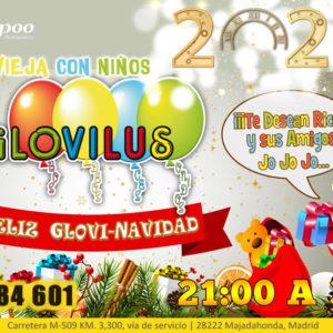 Nochevieja con animación infantil GLOVILUS