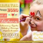 Desfile de disfraces en Carnaval. Comer con niños en Las Rozas y Majadahonda