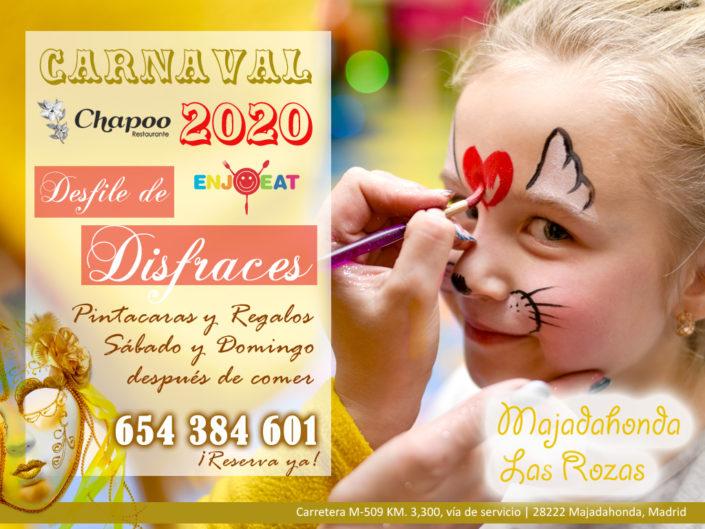 carnavales 2020 para niños con desfile y comida
