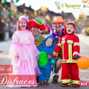Restaurante Disfraces carnavales. Desfile sábado y domingo