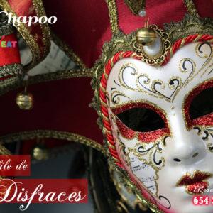 Restaurante en Majadahonda y Las Rozas para comer disfrazado en Carnavales