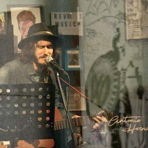 Antonio Hernando. Restaurante Musica en directo. Foto de su Facebook