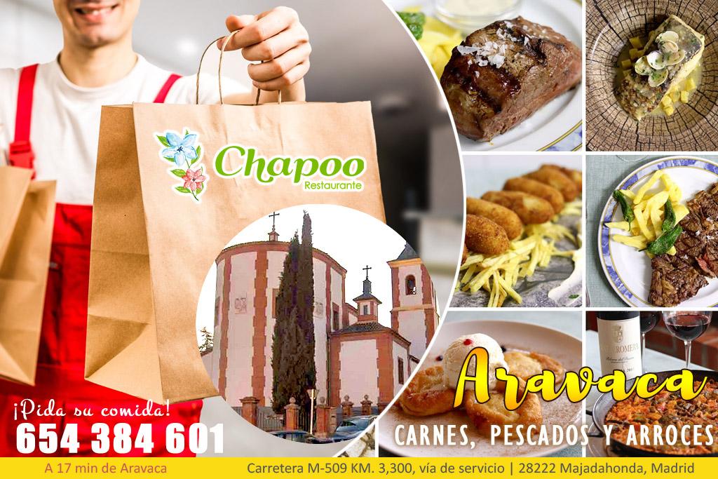 Comida casera a domicilio en Aravaca