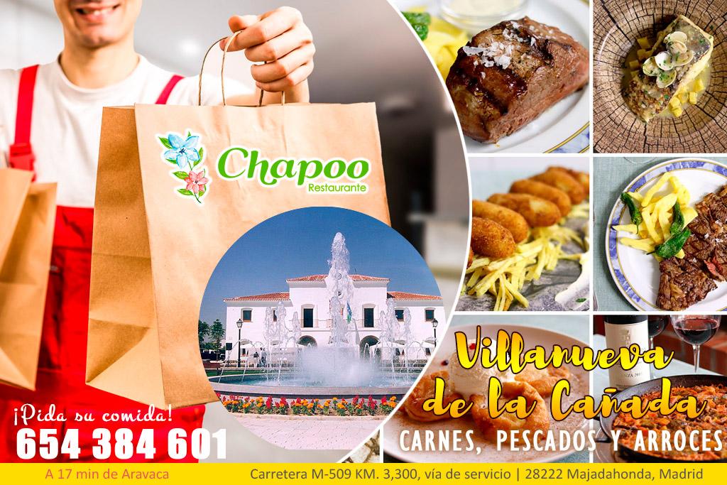 Comida casera a domicilio en Villanueva de la Cañada