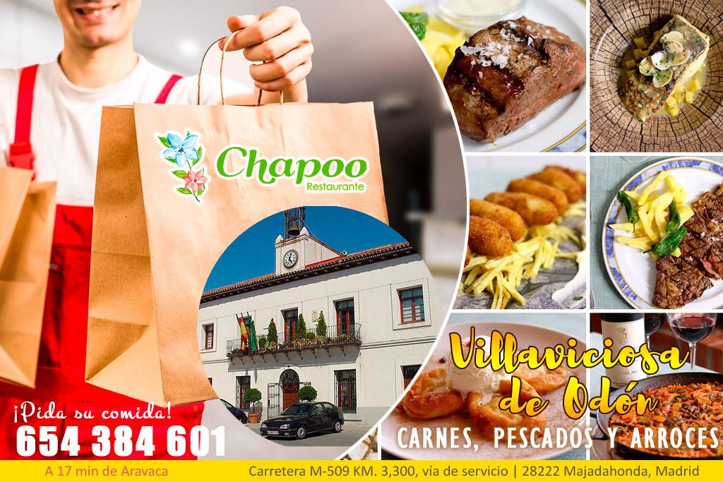 Comida casera a domicilio en Villaviciosa de Odón