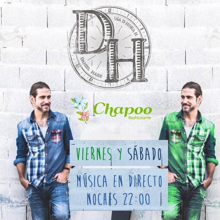 Daniel Hare terraza con encanto musica directo majadahonda lasrozas