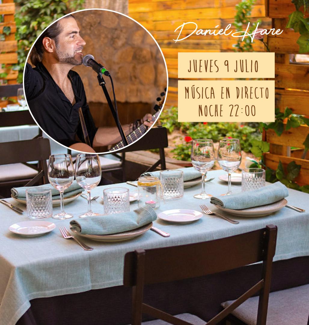 musica en directo jueves en Majadahonda y las Rozas en nuestro restaurante
