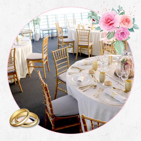 mesas estilo bodas personalizado vasos mantel cubiertos