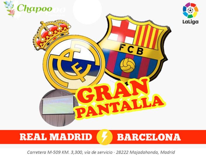 Ver Partido Barcelona contra Real Madrid La liga Las rozas