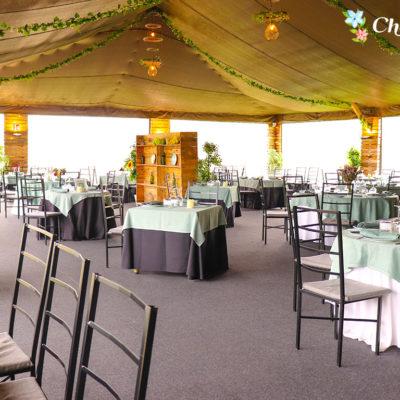 Restaurante con terraza cubierta para invierno en las rozas y majadahonda